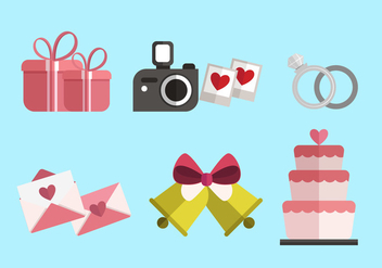 Vector Boda Item Sets - Free vector #429237