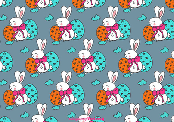 Easter Seamless Pattern - Free vector #429387
