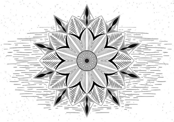 Free Mandala Vector Illustration - vector gratuit #429457
