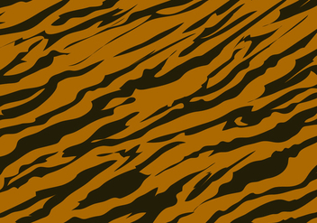Tiger Stripe Pattern Background - Kostenloses vector #429537