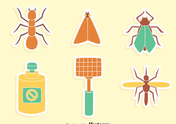 Great Pest Control Vectors - vector gratuit #429837