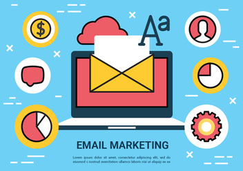 Free Email Marketing Vector Elements - Free vector #430427