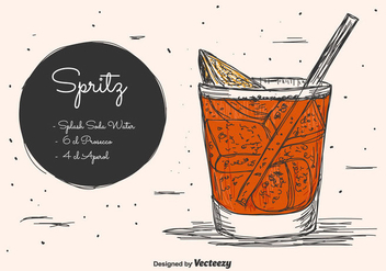 Spritz Vector Background - vector #430537 gratis