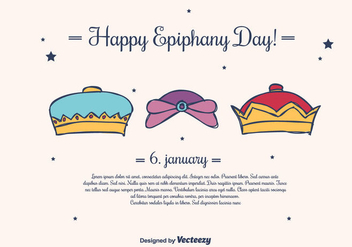 Epiphany Background Vector - Free vector #430547