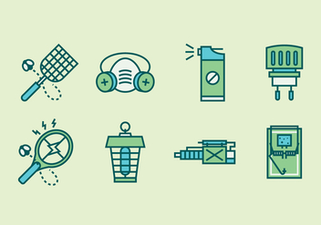 Pest Control Icons - Free vector #430647