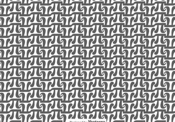 Grey and White Vector Pi Symbol Seamless Pattern - Free vector #430727