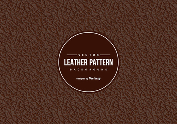 Leather Pattern Background - vector gratuit #430837