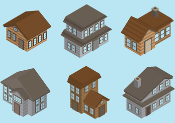 Free Chalet Icons Vector - бесплатный vector #430947