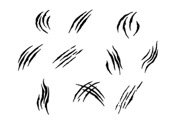 Free Scratch Marks Vector - Free vector #430967