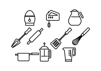 Free Cooking Icon Vector - vector #430977 gratis