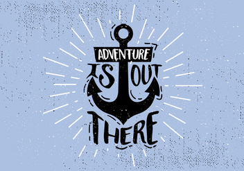 Free Hand Drawn Anchor Background - vector #431037 gratis