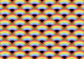Vector Rainbow Seamless Pattern - Free vector #431417