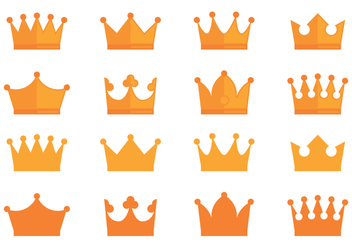 Crown Awards Icons Collection - Free vector #431567