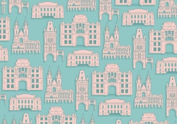 Prague Pattern Vector - Free vector #431577