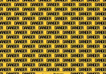 Vector Yellow Danger Tape Seamless Background - Kostenloses vector #431777