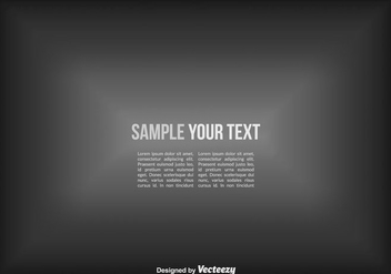 Vector Grey Gradient Background - vector #432047 gratis