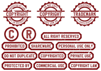 Copyright Icon Vector - vector gratuit #432297