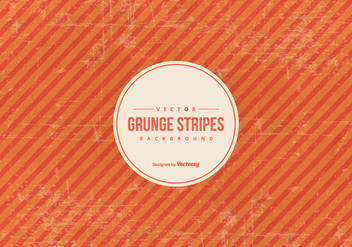 Orange Grunge Stripes Background - vector #432677 gratis
