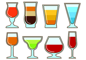 Vectors Glass Of Spritz - vector #432817 gratis
