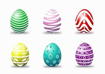 Easter Egg Happy Vectors - бесплатный vector #433167