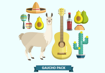 Gaucho Pack Vector Collections - бесплатный vector #433637