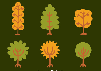 Hand Drawn Tree With Roots Vectors - Free vector #433727