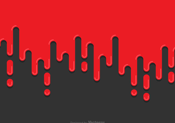 Blood Dripping Background Vector - Kostenloses vector #433977