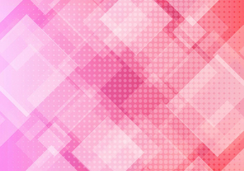 Free Vector Pink Geometric Background - бесплатный vector #434057