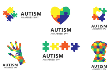 Autism Day Icon - Free vector #434117