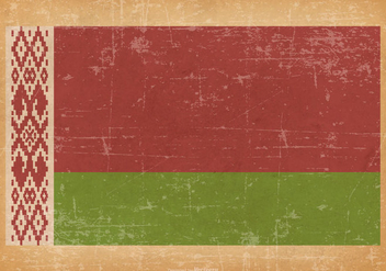 Grunge Flag of Belarus - Free vector #434197