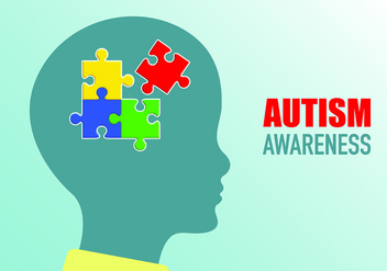 Poster Of Autism Awareness - vector gratuit #434247