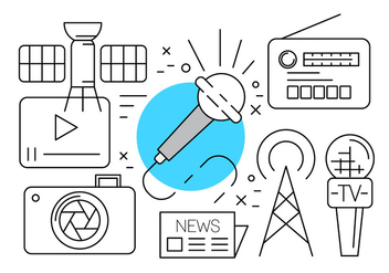 Free Media Icons - vector #434677 gratis