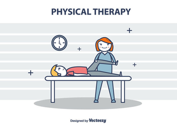 Physical Therapy Vector Illustration - Kostenloses vector #434727
