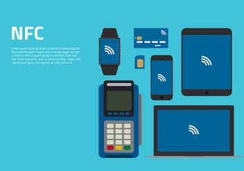NFC Equipment Free Vector - Free vector #434817