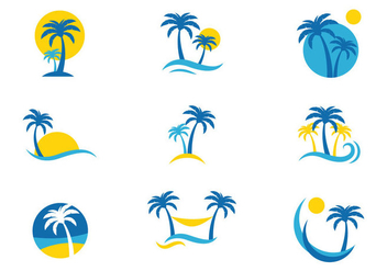Palmetto Logo Vector - бесплатный vector #435287