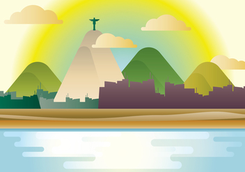 Copacabana Beach - Free vector #435527