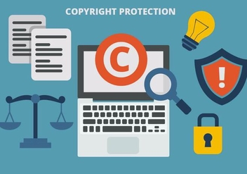 Free Copyright Protection Vector - vector #435997 gratis