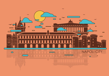 Napoli City Vector - бесплатный vector #436037
