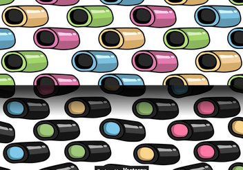 Licorice Candy Vector Seamless Patterns - Free vector #436187