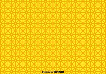 Vector Yellow Geometric Shapes Pattern - vector gratuit #436277