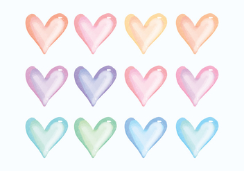 Vector Hand Drawn Heart Collection - vector gratuit #436417
