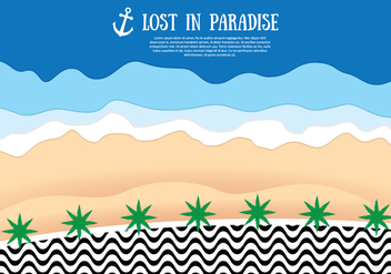 Copacabana Beach Background - Free vector #436467