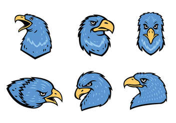 Free Eagles Mascot Vector - бесплатный vector #436647
