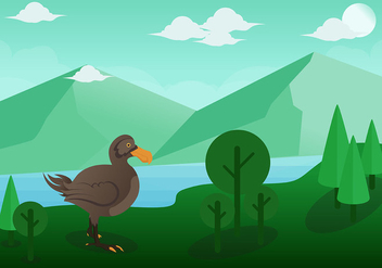 Dodo Bird Vector - бесплатный vector #436737