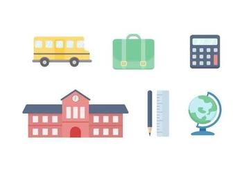 Free Unique School Vectors - бесплатный vector #436977