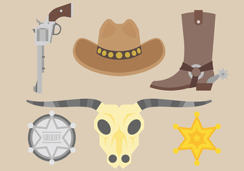 Free Gaucho Icons Vector - Free vector #437037