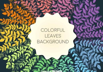 Vector Template With Colorful Branches - Free vector #437397