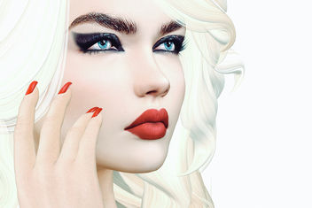 Night Out Eyeshadow by Arte @ ANYbody & Lips Soft Matte by Arte @ The Chapter Four - бесплатный image #437577