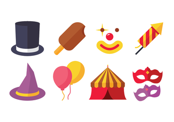 Carnival Icon Pack - vector gratuit #437827