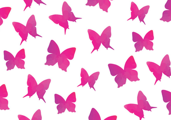 Watercolour Butterfly Seamless Pattern Butterfly - Kostenloses vector #437837